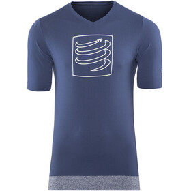 Compressport Training Running T-shirt blue